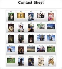 Online Contact Sheet Creator