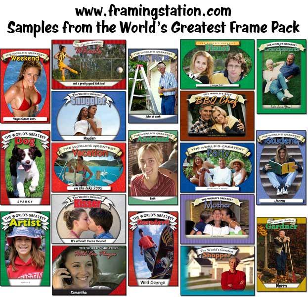 World's Greatest Frame Pack