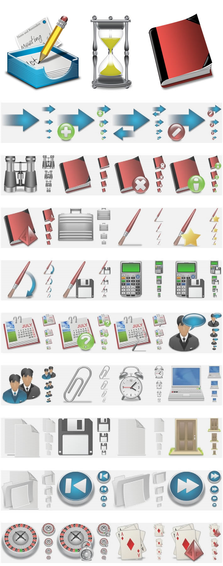 X-MAC 1500 MAC style application icons