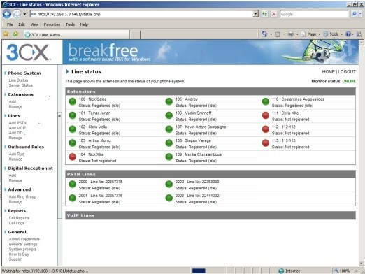3CX Phone System for Windows Free