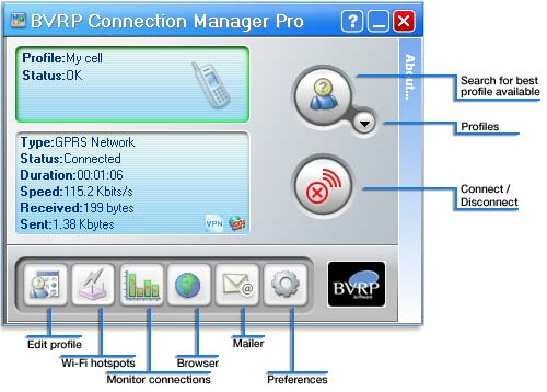 BVRP Connection Manager Pro