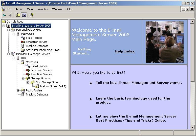 E-mail Management Server