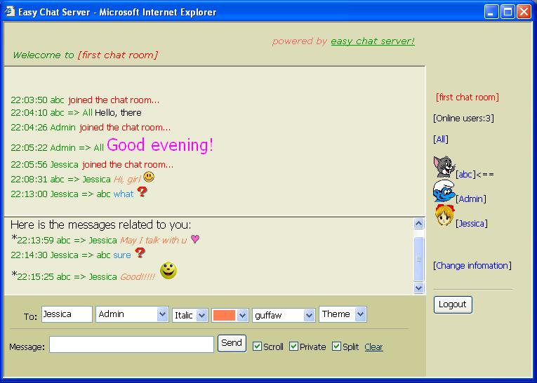 Easy Chat Server
