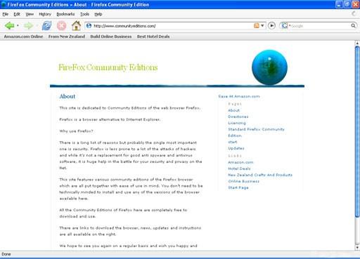 Firefox Community Edition Standard
