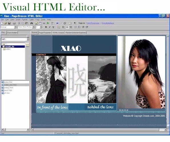 PageBreeze Free HTML Editor