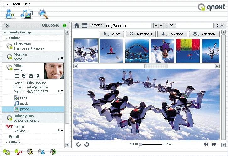 Qnext (Linux)