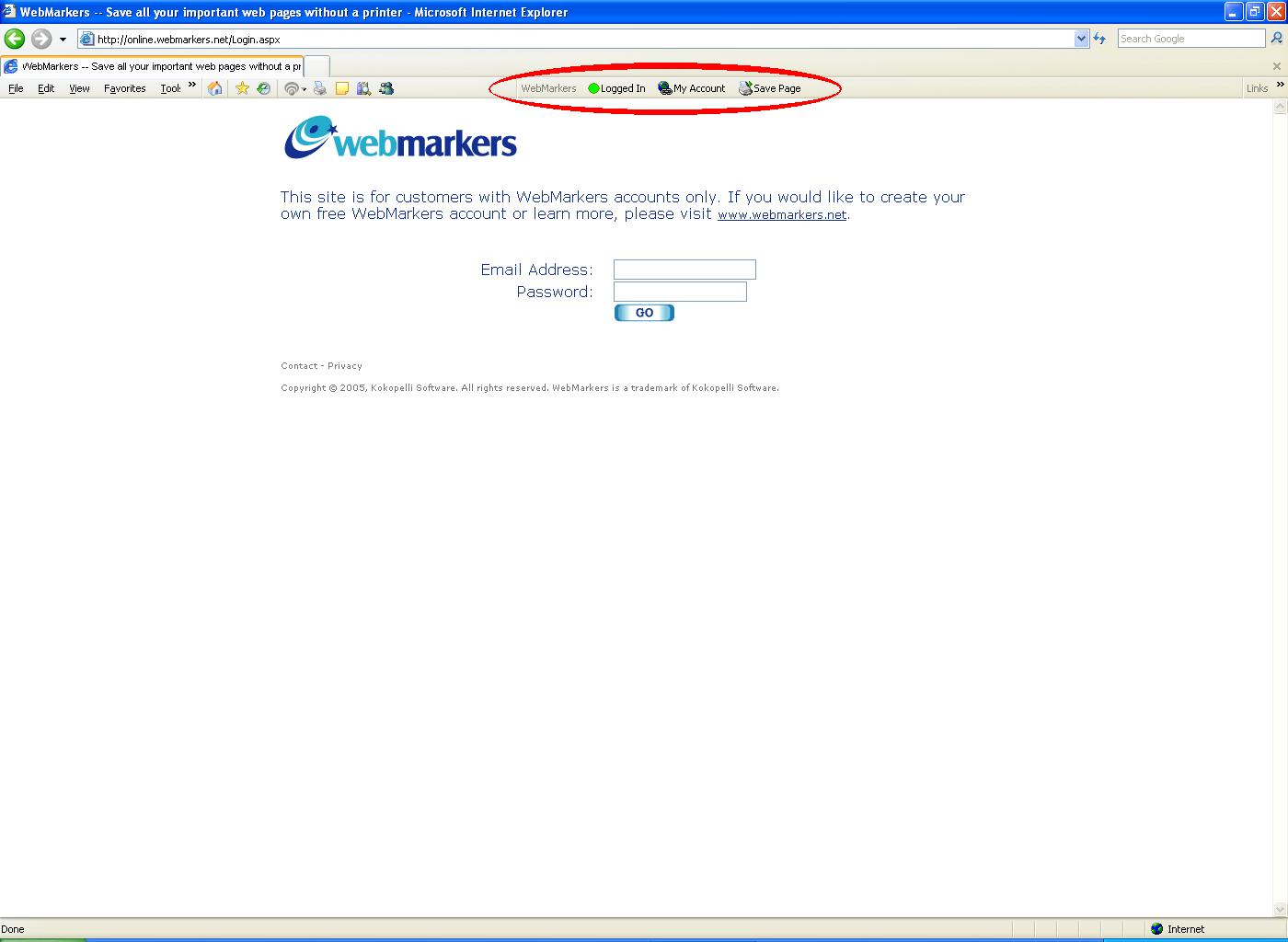 WebMarkers