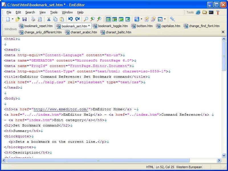 EmEditor Text Editor Free