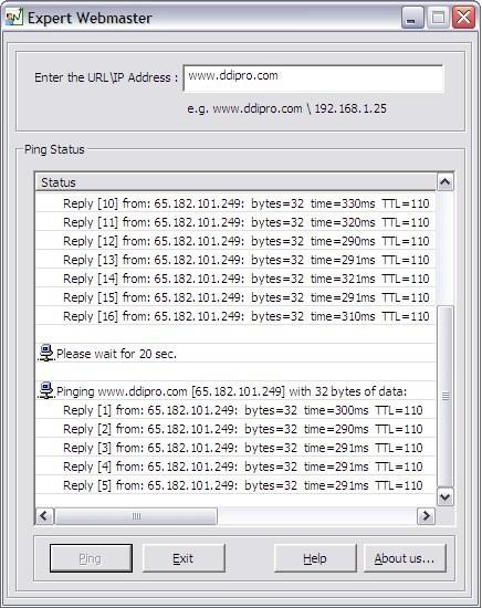 Server Website Monitoring Tool