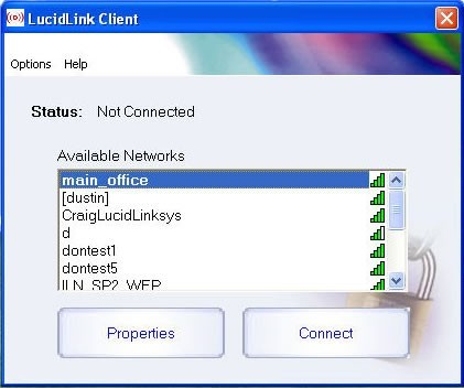 LucidLink WiFi Client