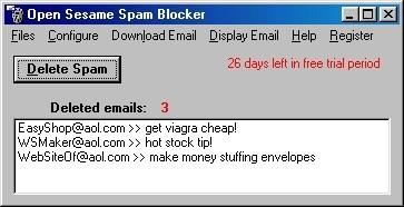 Open Sesame Spam Blocker