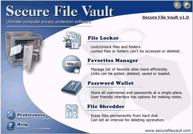 Secure File Vault