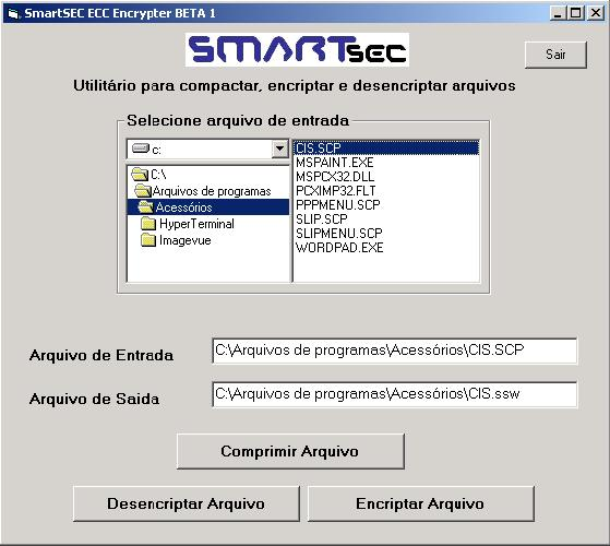 SmartSEC ECC Encrypter BETA