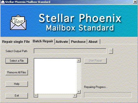 Stellar Phoenix Mailbox Standard -