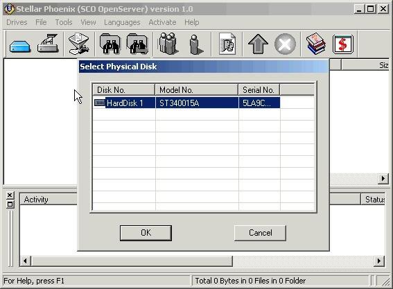 Stellar Phoenix SCO OpenServer - Data Recovery Software