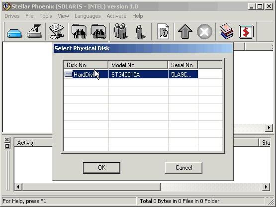 Stellar Phoenix Solaris-Intel - Data Recovery Software