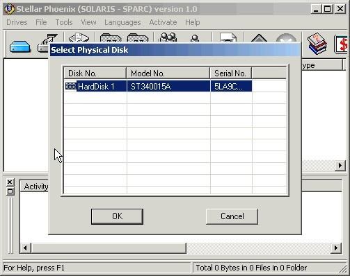 Stellar Phoenix Solaris-Sparc - Data Recovery Software
