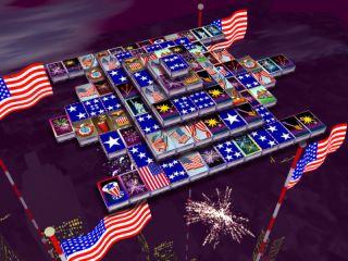 3D Magic Mahjongg - 4th of July