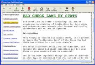 Bad Check Laws
