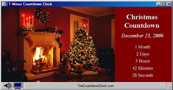 T-Minus Christmas Countdown