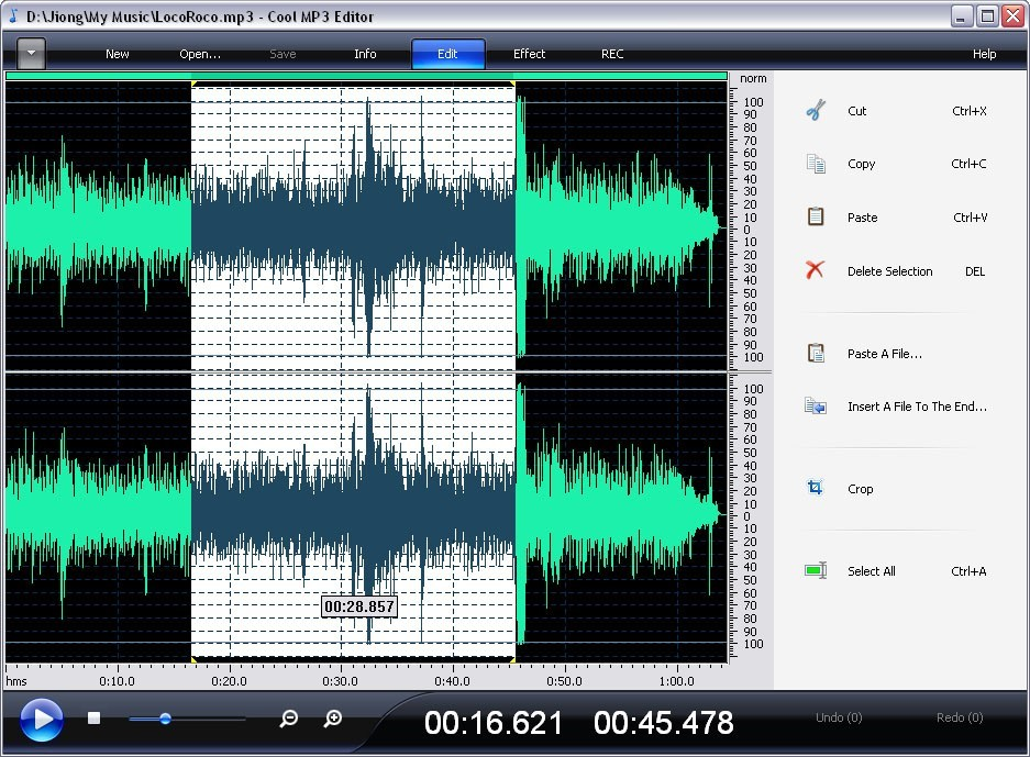 AEP Audio Editor Basic