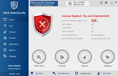 AKick Antivirus Total Security
