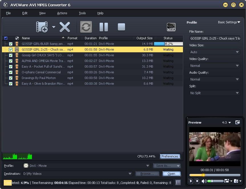AVCWare AVI MPEG Converter