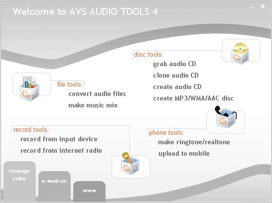 AVS Audio Tools
