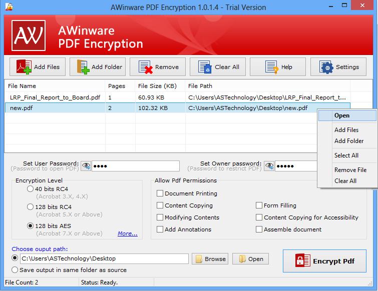 AWinware Secure Bulk Pdf
