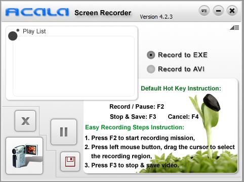 Acala Screen Recorder