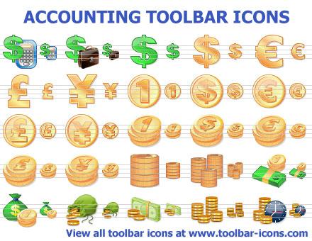 Accounting Toolbar Icons