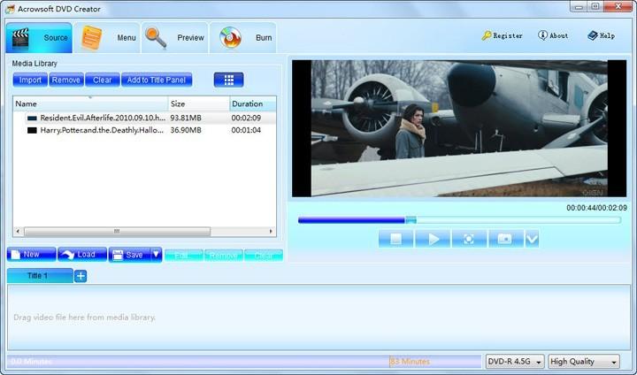 Acrowsoft DVD Creator