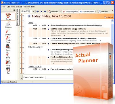 Actual Planner
