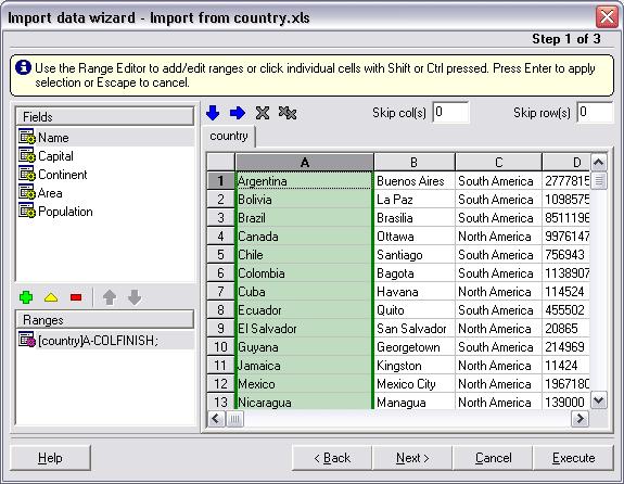 Advanced Data Import VCL