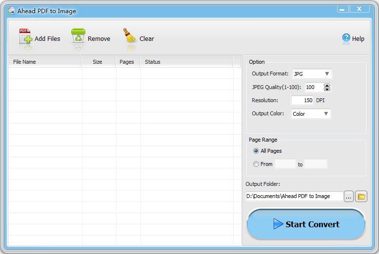 Ahead PDF to Image Converter