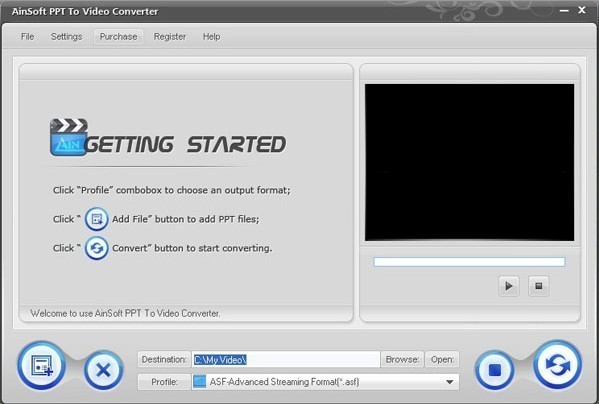 Ainsoft PPT to Video Converter