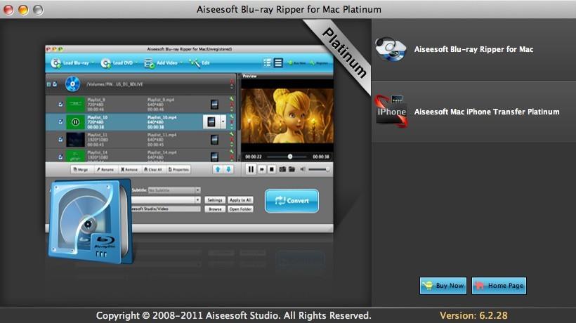 Aiseesoft Blu-ray Ripper Mac Platinum