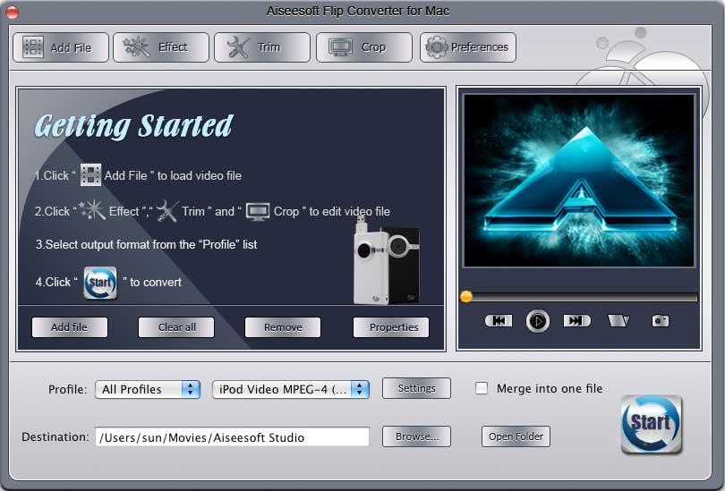 Aiseesoft Flip Converter for Mac