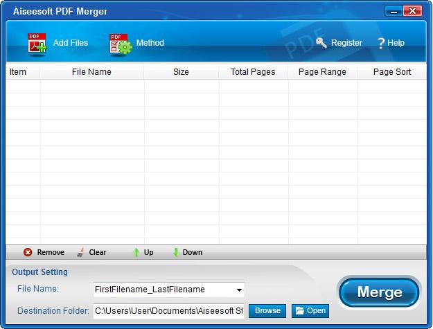 Aiseesoft PDF Merger