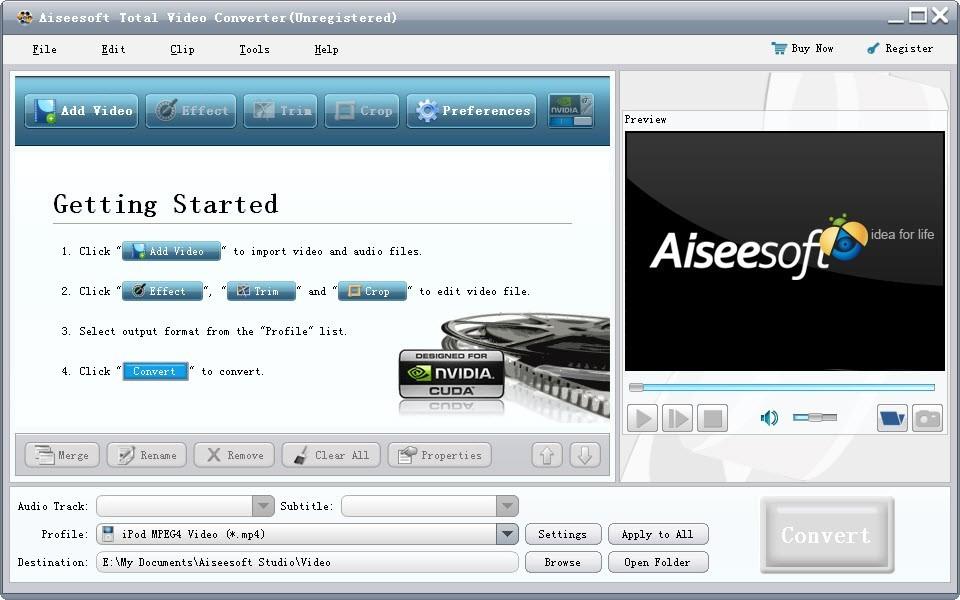 Aiseesoft Total Video Konverter Software