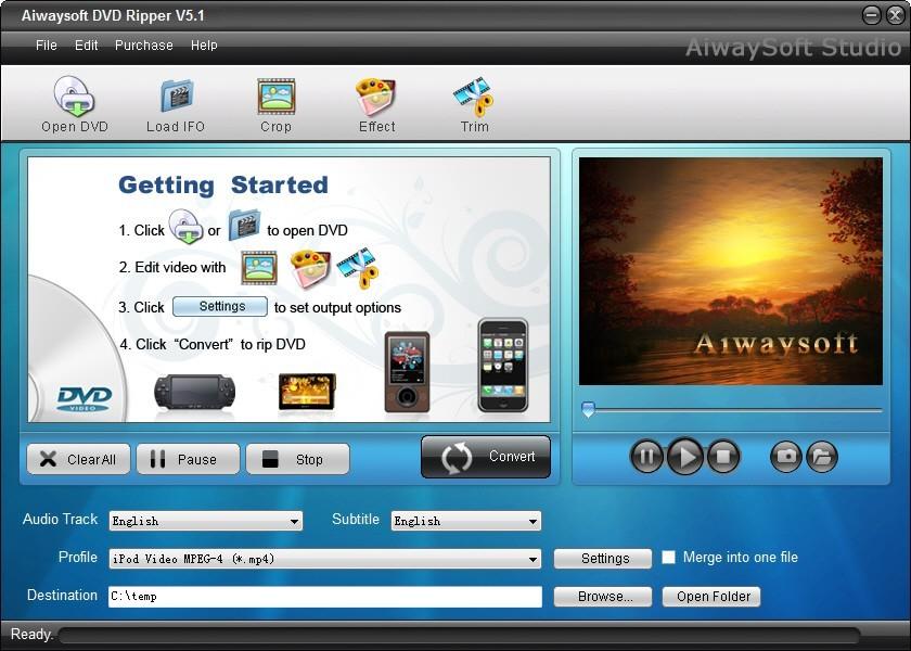 Aiwaysoft DVD Ripper