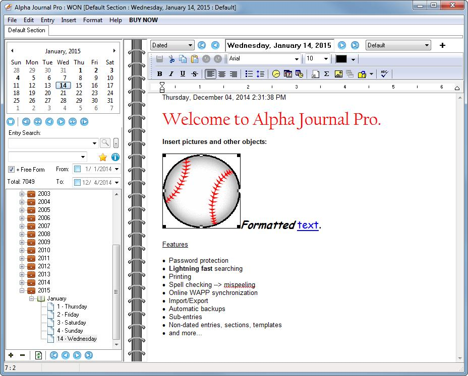 Alpha Journal Pro