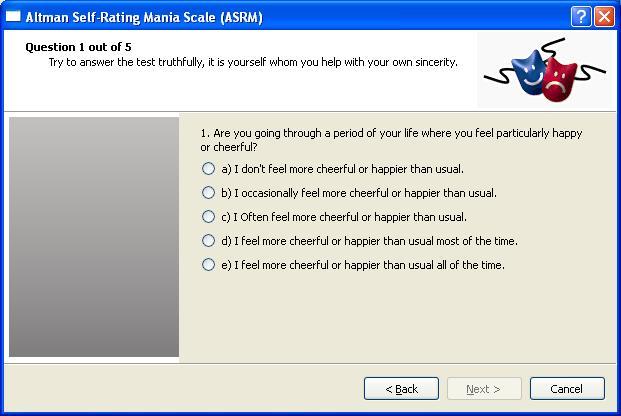 Altman Self Rating Mania Scale