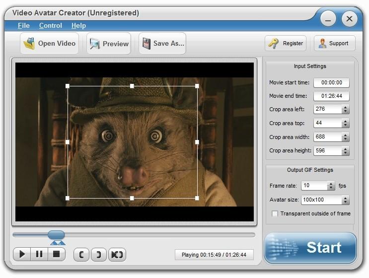 Animated Video Avatar Creator