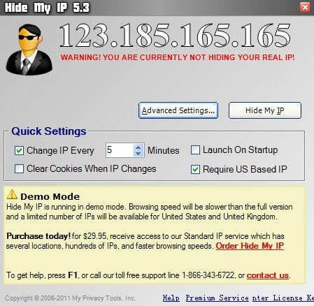 Anonymous Web Surfing Software