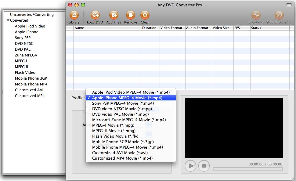 Any DVD Converter for Mac