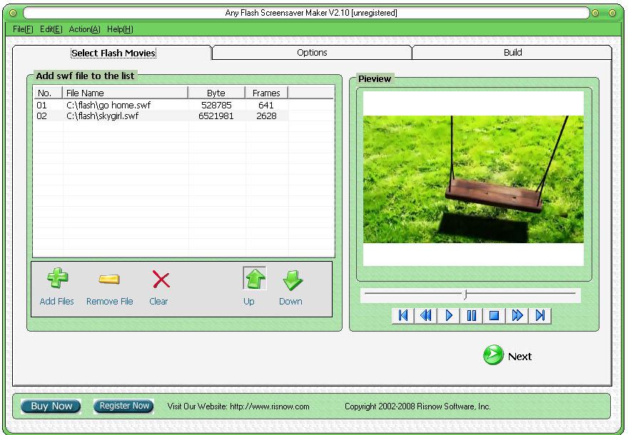 Any Flash Screensaver Maker