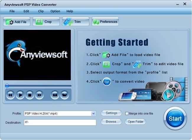Anyviewsoft PSP Video Converter
