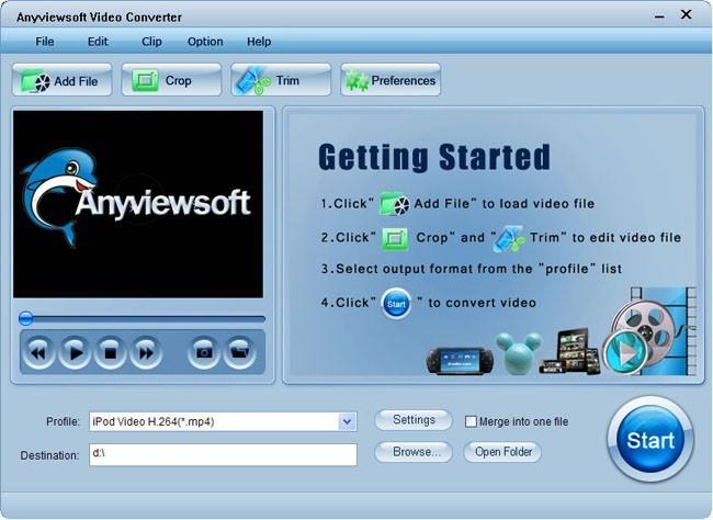 Anyviewsoft Video Converter