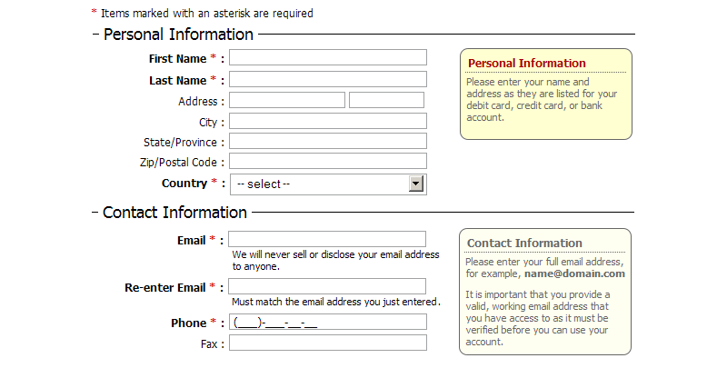 ApPHP DataForm data bound form control